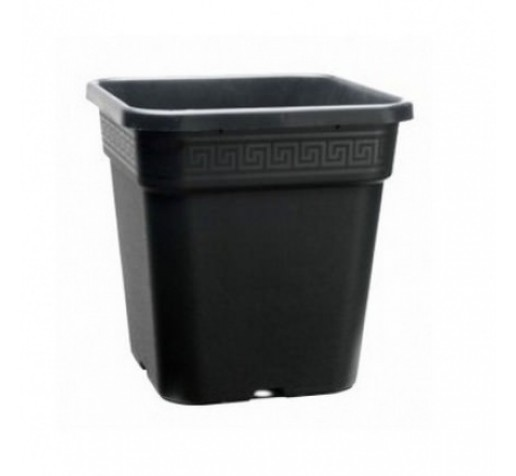 Горшки пластиковый 14л квадратный Италия фото