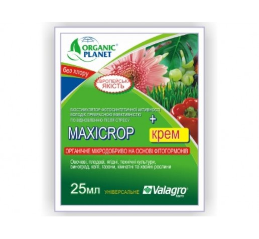 Maxicrop + крем 25ml фото