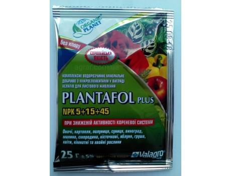 Plantafol 5-15-45 25g купить в Украине фото
