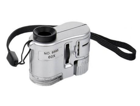 Микроскоп no.9592 60х с подсветкой Китай купить в Украине фото