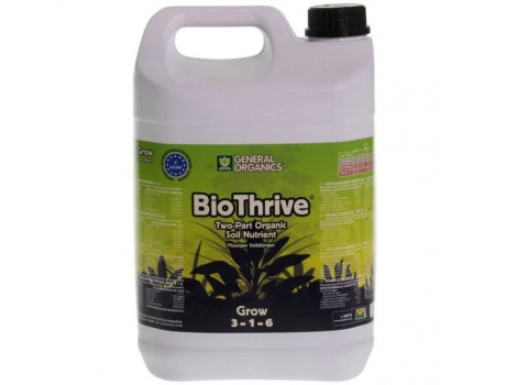 Pro Organic Grow / GO Thrive Grow 5 ltr Terra Aquatica /GHE купить в Украине фото