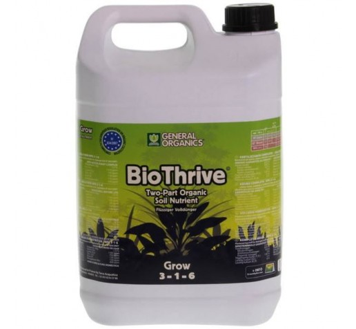 Pro Organic Grow / GO Thrive Grow 5 ltr Terra Aquatica /GHE фото