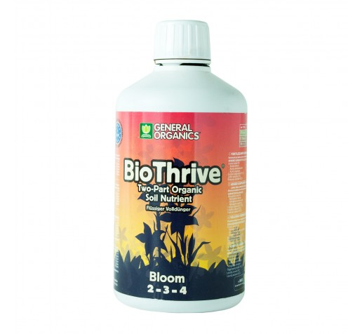 General Organics GO BioTrive Bloom 0,5 ltr GHE Франция фото