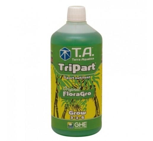 TriPart Grow / Flora Gro 1 ltr Terra Aquatica /GHE фото