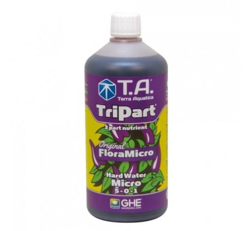 TriPart Micro HardWater / Flora Micro 1 ltr Terra Aquatica /GHE фото