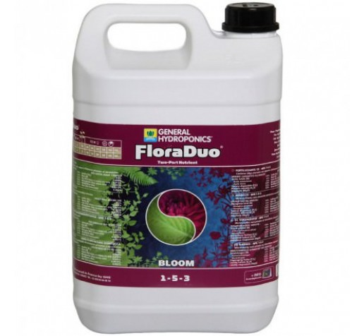 Flora Duo Bloom 5 ltr GHE Франция фото