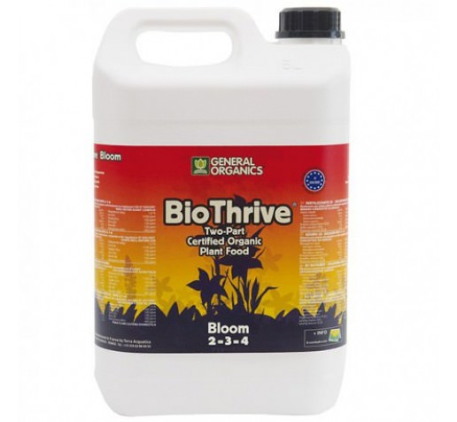 Pro Organic Bloom /  GO Thrive  Bloom 5 ltr Terra Aquatica /GHE фото