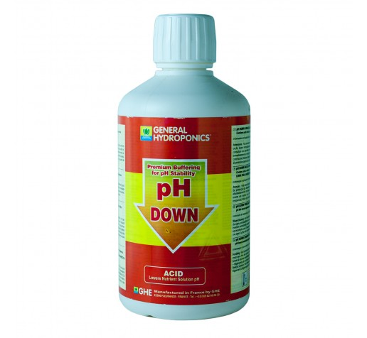 Ghe pH- down 0,5 ltr Франция фото