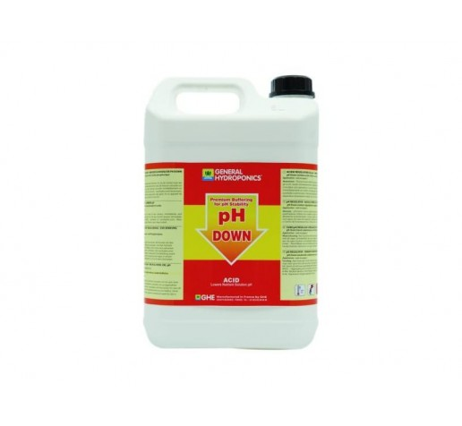 Ghe pH- down 5 ltr Франция фото