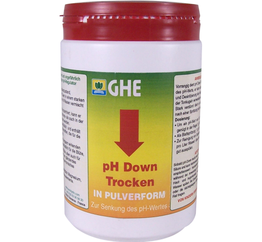Ghe pH- down Dry 1 kg Франция фото