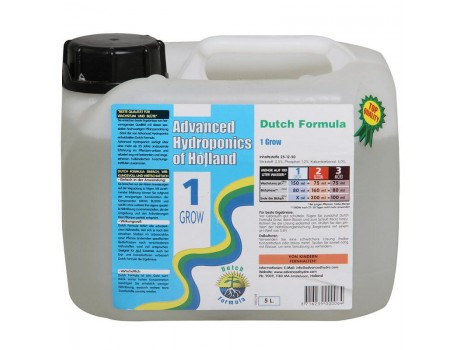 Dutch Formula Grow 5 ltr Advanced Hydroponics Netherlands купить в Украине фото