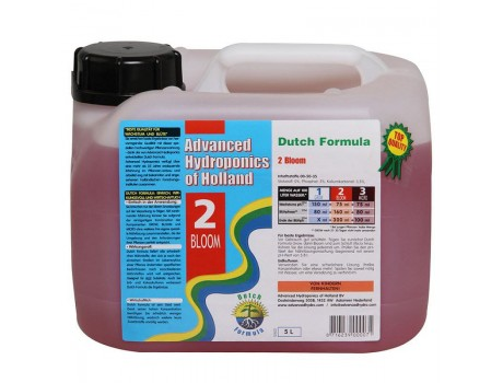 Dutch Formula Bloom 5 ltr Advanced Hydroponics Netherlands купить в Украине фото