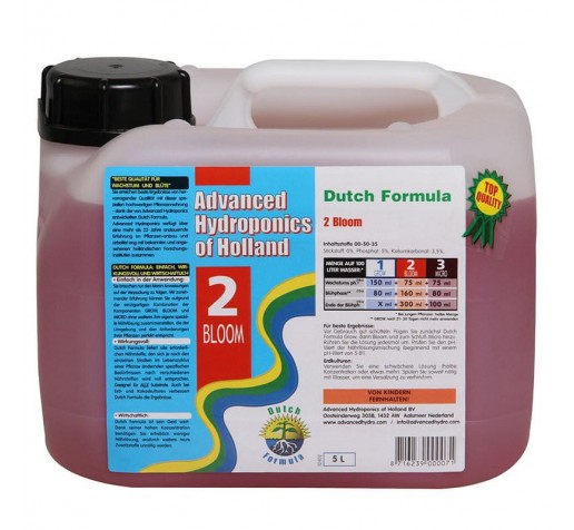 Dutch Formula Bloom 5 ltr Advanced Hydroponics Netherlands фото
