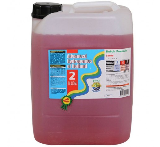 Dutch Formula Bloom 10 ltr Advanced Hydroponics Netherlands фото