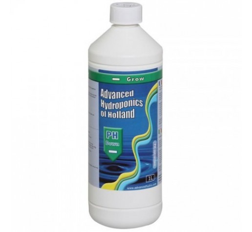 Advanced Ph- Down Grow 0,5 ltr Advanced Hydroponics фото