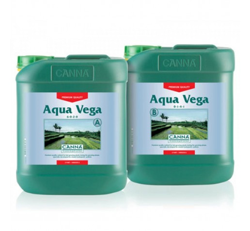 Aqua Vega A&B 5 ltr Canna фото