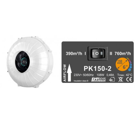 PK 150-2 380-760m/куб Prima Klima Чехия фото