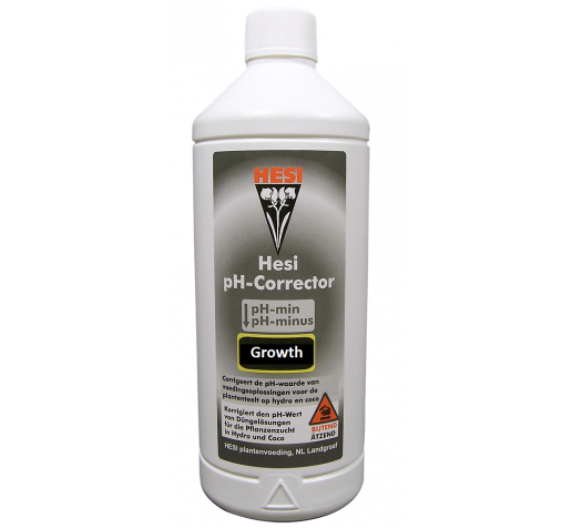 Hesi pH- Minus Growth 1 ltr фото