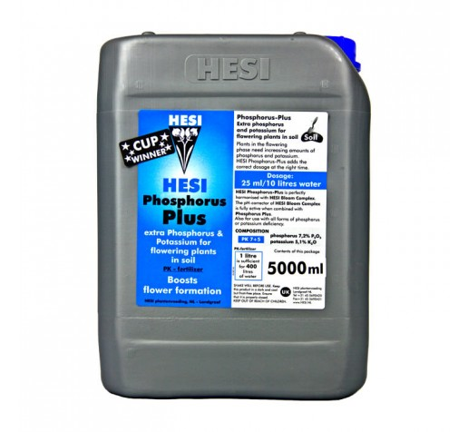 Phosphorus Plus 5 ltr Hesi фото