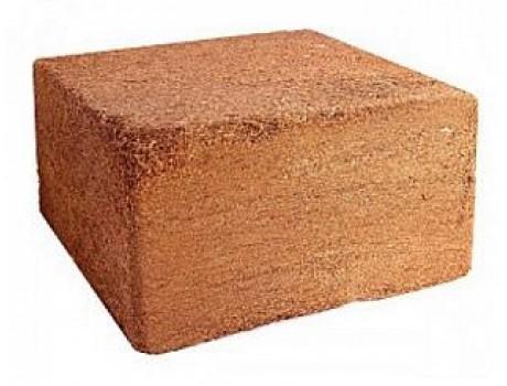 Блок кокосовый 5 кг без упаковки купить в Украине фото